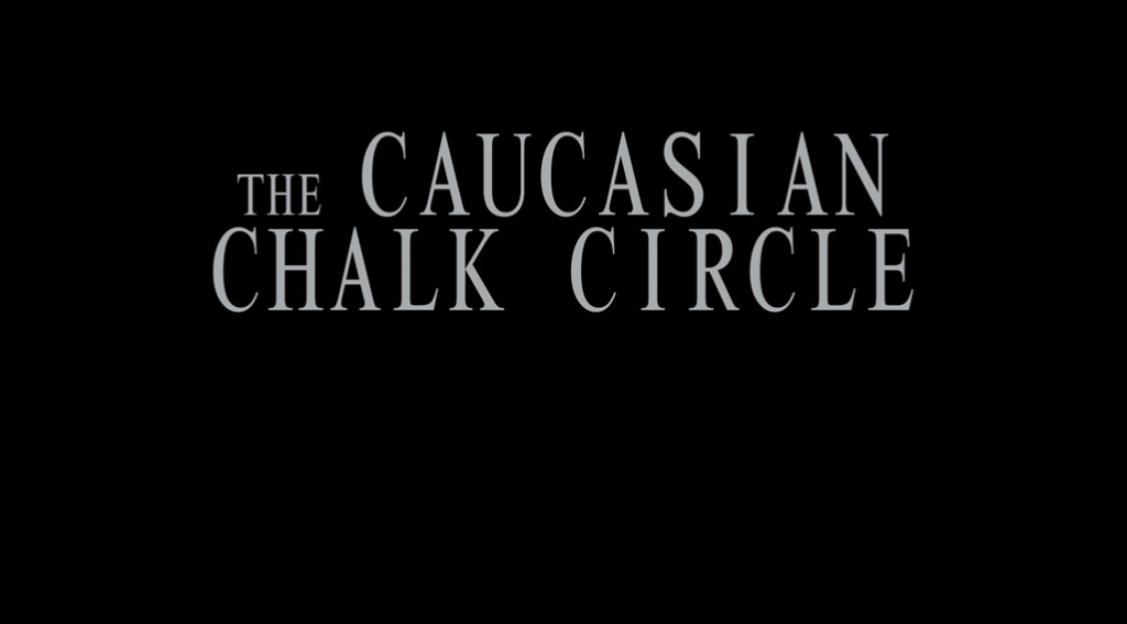 themes n caucasian chalk circle Eventually the caucasian chalk circle became the favourite brecht play in america, perhaps because of its  there is the theme of ownership and belonging.