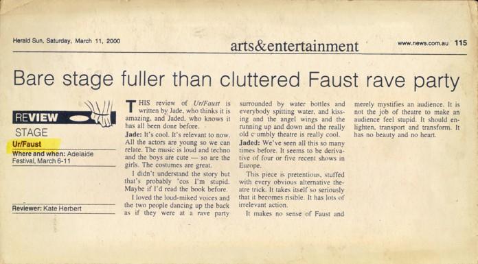 URFAUST theatre  urfaust011
