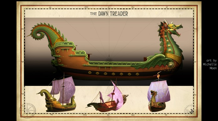 VOYAGE OF THE DAWN TREADER Film  Dawn Treader 065